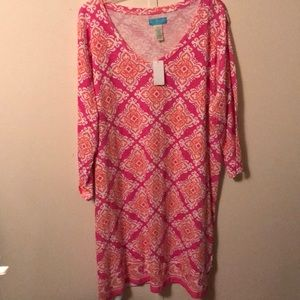 Dresses & Skirts - Pretty New 3/4 sleeve dress !!
